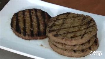 Grilling Hamburgers with the Winston Cvap