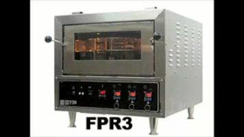 Doyon FPR3 Countertop Pizza Oven