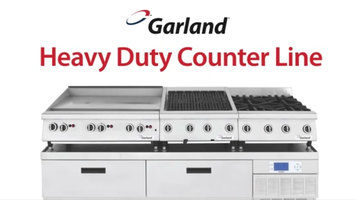 Garland Heavy Duty Countertop Line