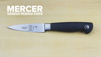 Mercer Genesis 3 1/2&quot Paring Knife