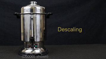 Hamilton Beach Coffee Urns: Descaling