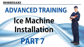 Hoshizaki Ice Machine Installation