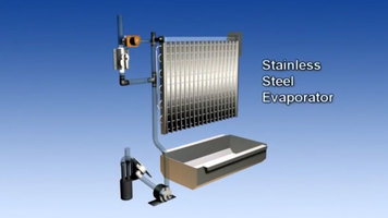 Hoshizaki KM Series Ice Machines: Stainless Steel Evaporator