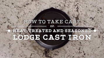 How to Clean Lodge Heat-Treated Pans