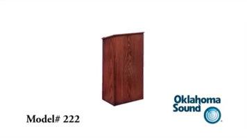 Oklahoma Sound 222 Lectern