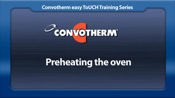 Cleveland Convotherm: Preheating