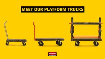 Rubbermaid Platform Trucks