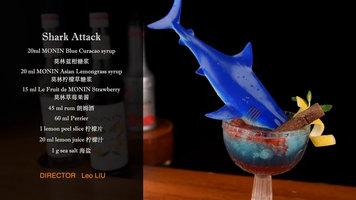 Shark Attack Cocktail by Monin