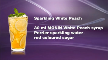 Sparkling White Peach by Monin