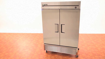 true t dt two section dual temp reach in combination true t 49 reach in refrigerator