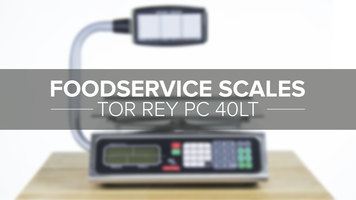 Tor Rey PC 40LT Legal For Trade Scale