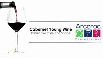 Arcoroc Cabernet Young Wine Glasses
