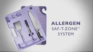 San Jamar Allergen Saf-T-Zone System