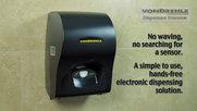 VonDrehle Touch Your Towel Electronic Paper Towel Dispenser
