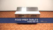 True TSSU-60-16 Food Prep Refrigerator