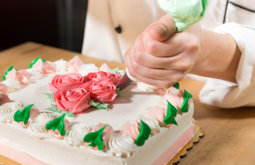 how to make icing roses step by step