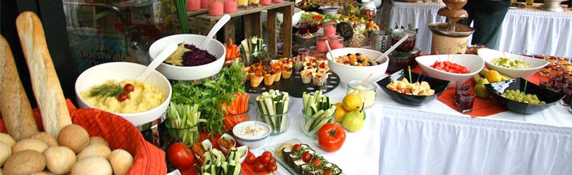 Outdoor buffets