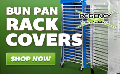 Regency bun pan rack covers available now!