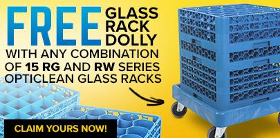 Free Carlisle Glass Rack