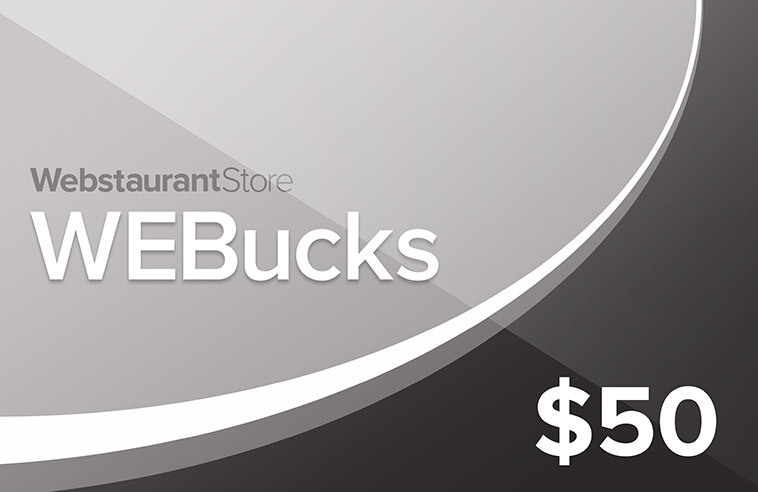 Silver WEBucks - $50 Gift Card
