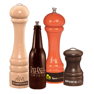 Salt and Pepper Shakers and Mills